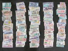 World – Collection of approx. 250 banknotes from all over the world