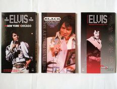 Elvis Presley - 3 Rare Boxes 6 CDs - From New York to Chicago 1972 - Black Diamond Las Vegas 1976 - From Tahoe to Vegas 1971