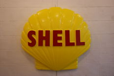 "Plexi ""Shell"" shell 1960s, in relief, dimensions:  Width: 99 cm, height: 89 cm, thickness: 15 cm"