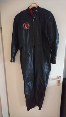 4 - Vintage leather Motorcycle racing suits