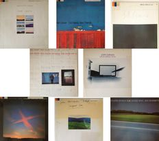 Lot Of 8 Very Collectable LP's On The llustrious ECM Label  -  Hard To Find & All Vinyl Exc to Mint Condition !!