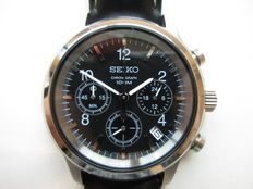 Seiko chronograph, ref.: 6T63, men's wristwatch, 2012