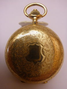 IWC - pocket watch men - approx. 1900