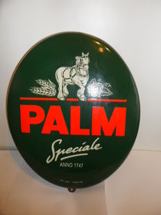 Oval enamel Palm Billboard-1997