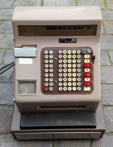 Old registering machine, 70´s