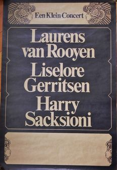 15 theatre and concert posters from the 60s and 70s