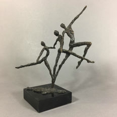 Frank Stoopman - beautiful bronzed sculpture (height 26 cm)