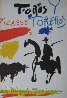 Pablo Picasso and Luis Miguel Dominguin - Toros y toreros