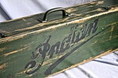 Indian Motorcycles wood garage tools  box