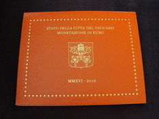 """Vatican - year pack/ year collection 2016 """"Franciscus I""""."""