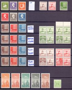 Denmark 1935/2003 - Composition of stamps and series - between Yv 225 and 1356