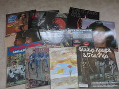 Soul:  various Artists - lot of 10 LP Albums from the sixties and the seventies