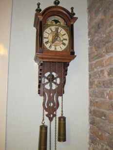 Frisian grandfather clock, approx. 1950