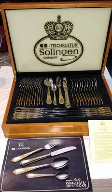 - Solinger luxury cutlery 23/24 carat
