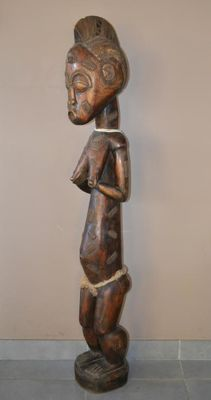 Large fertility statue - BAULE - Ivory Coast