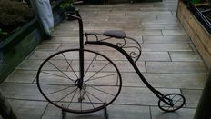Penny-farthing bicycle or Velocipede - early 1900's