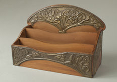 Art Nouveau letter holder – in the Alfred Daguet style