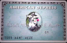 D*Face – American Depress Card