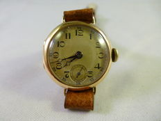 Mido gold watch, 1930s
