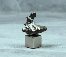 Campo del Cielo Meteorite - Oktaedrite IVA - Iron Meteorite in 3D Skeleton form - in a bizarre structure - 1.80 x 1.75 cm - 5.50 g