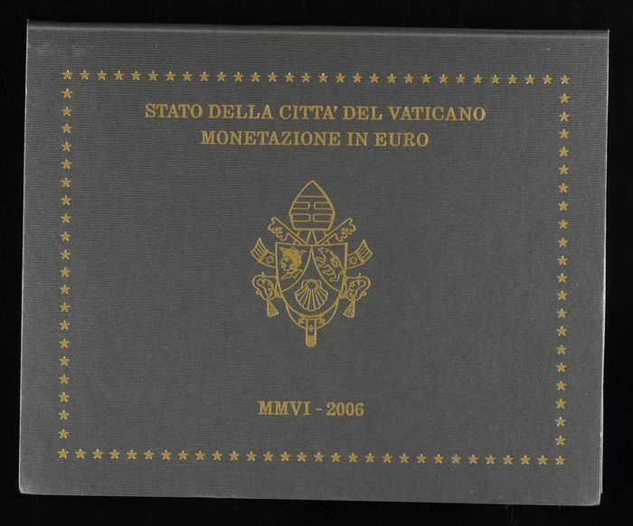 Vatican – Year collection 2006 Benedict XVI