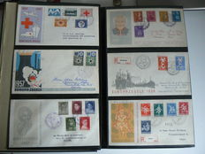 Nederland 1957/2004 - Collectie FDC's in drie albums