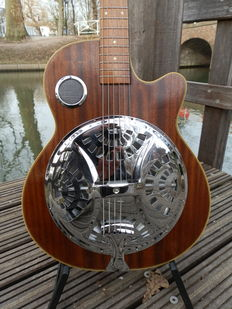 Kimberley Resonator Guitar - year of manufacturing and maker unknown.