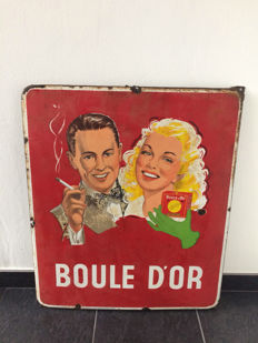 Boule d'Or - 1954 - enamel sign