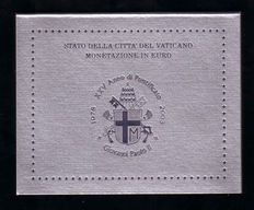 "Vatican - Year pack/ year collection  2003, ""John Paul II"""
