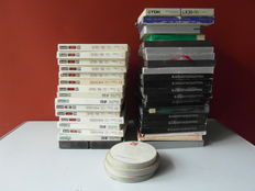 40 Tape recorder tapes