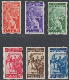 Vatican City 1935 - Juridical Congress Sassone 41/6