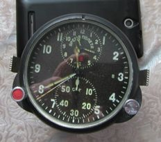 Original Russian( СССР/USSR ) watch ACHS- 1 for the supersonic fighters MiG-29. The end of the 20th century chronograph