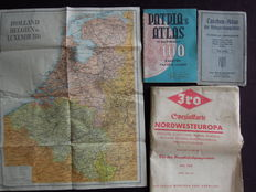 WW2:  Pocket Atlas to the battle stations and with the main fortification zones