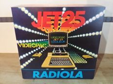 Radiola Jet Color 25 (French Videopac G7000) console, complete in original box
