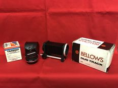 Bellows duo track for Canon – Tamron Tele converter for Olympus
