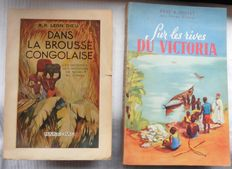 Congo Two books about travel in Congo - 1946/1948