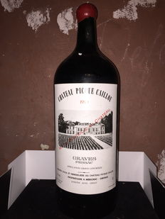 Imperial 6 L 1990 Château Picque Caillou Graves red Pessac