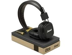 MARSHALL MAJOR BLACK - HEADPHONES FOR SMARTPHONE AND READERS