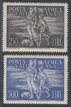 Vatican City 1948 - Airmail Tobia Sassone A16/7
