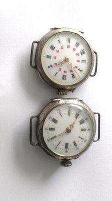 2 pocket watches from 1914-18 war