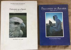 Lot with 2 books on Falconry - 1976/1984