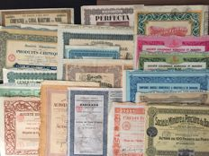 Collection: 19, 10x France + 9x Colonial World International, Africa Ethiopia, Senegal, France, Ivory Coast, Dakar, Bruxelles from 1909 to 1929 Paris Bassan Courbevoie