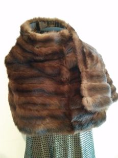 G. Rech -  luxury mink fur cape