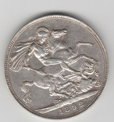 UK - Crown 1892 - silver