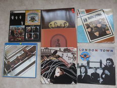 The Beatles (and related) lot of  seven LP's (2 double, one triple)