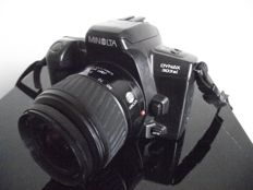 Minolta Dynax 303si body with Minolta AF zoom f=35-80mm - 1:4.0-5.6 and diameter 49mm
