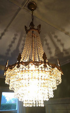 Crystal chandelier - 20th century