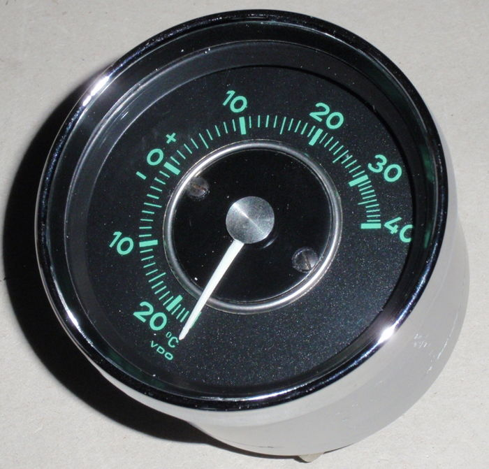 Unique external temperature meter PORSCHE 901 -902
