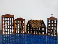 A beautiful collection of porcelain thimbles