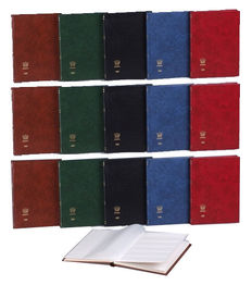 Accessories - 15 Importa stock albums with 16 white pages